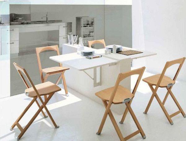 Делаем своими руками складной, раскладной и откидной стол для дачи, кухни или балкона