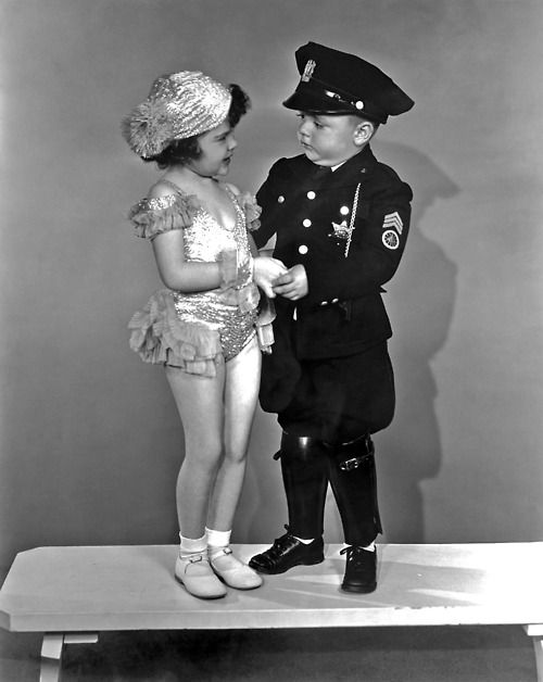 Darla and Spanky ~ The Little Rascals