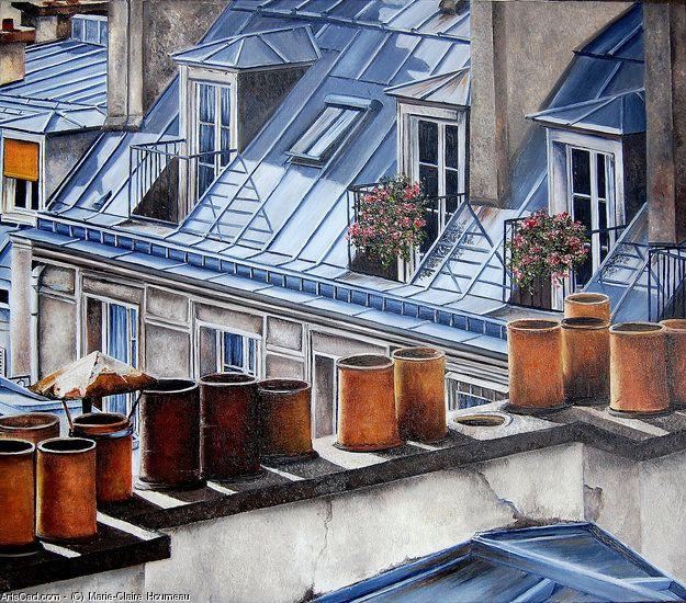Marie-Claire Houmeau Toits de Paris 7