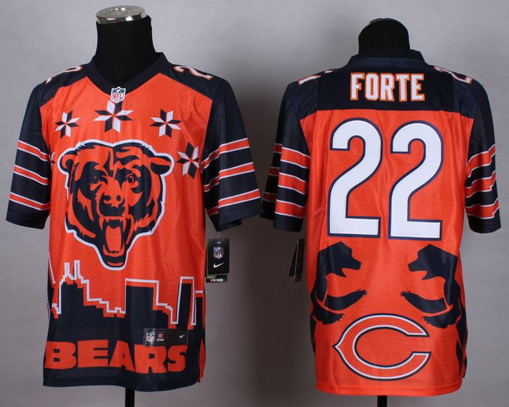 6631f983a17 ... promo code for jersey mens nike nfl chicago bears 72 william perry  noble fashion style 22