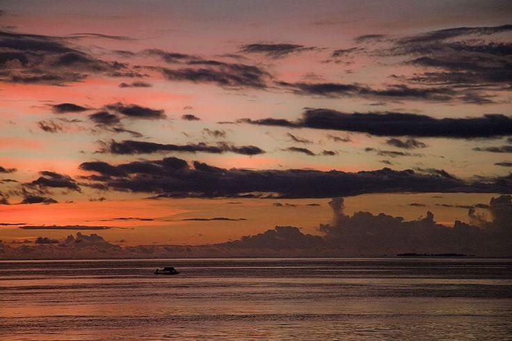 Sunset at, Raja Ampat, West Papua, Indonesia