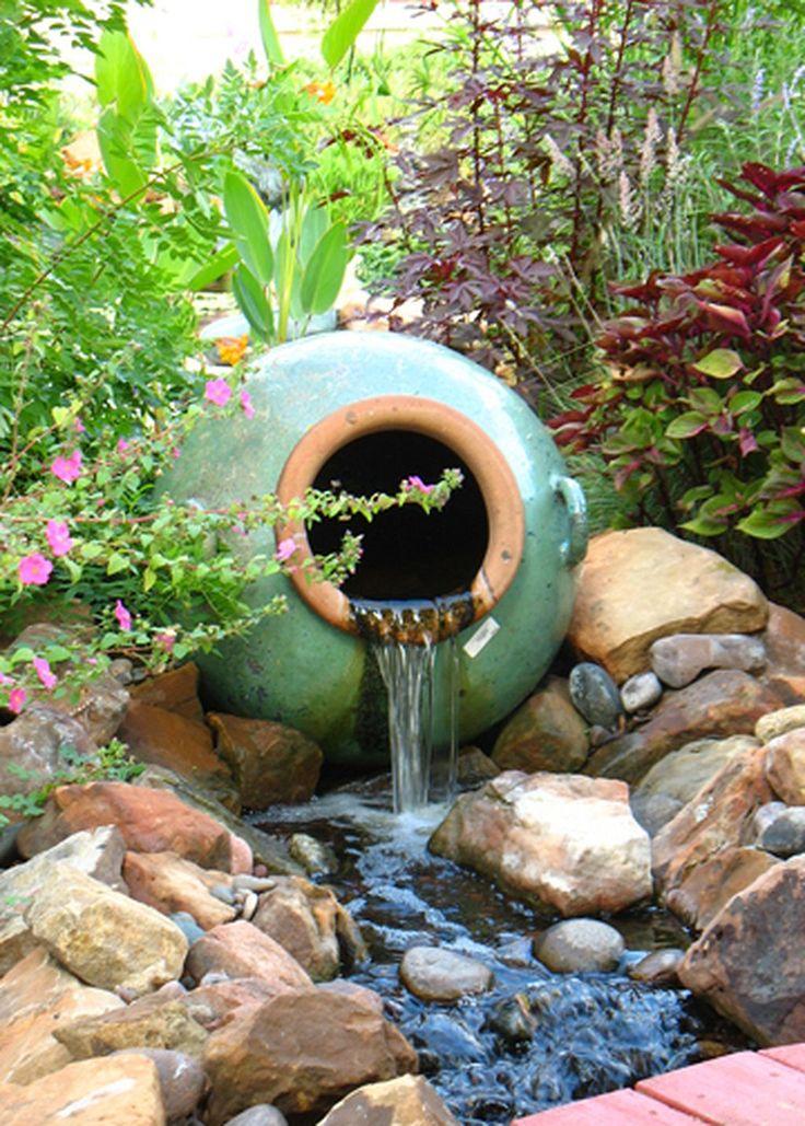 Best 25 fountain design ideas on pinterest garden water for Backyard water fountains