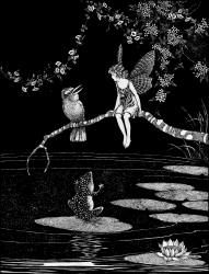 Led her to a nasty, stagnant pool; Serana: The Bush Fairy - Fairyland, 1926