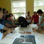 Acevedo se reunió con la comunidad educativa de Siján