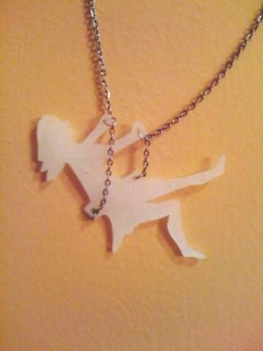 Shrinky-dink jewelry. Adorable.