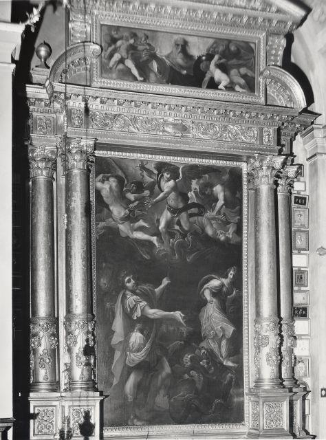 A. Villani e Figli , Ludovico Carracci. L'Arcangelo Michele e S. Giorgio. Bologna - S. Giorgio - insieme