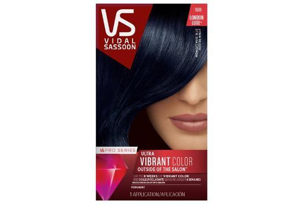 vidal sassoon hair dye midnight blue - Google Search