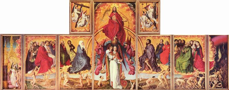 Polyptych with the Last Judgement, so called: Beaune Altarpiece, Beaune, Hôtel-Dieu, Beaune