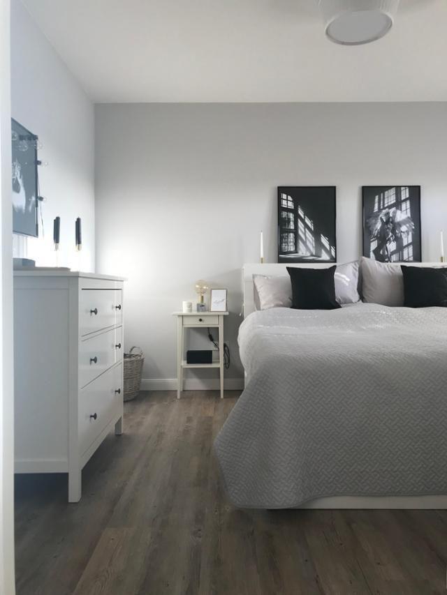 Schlafzimmer im skandinavischen Landhausstil! weiß