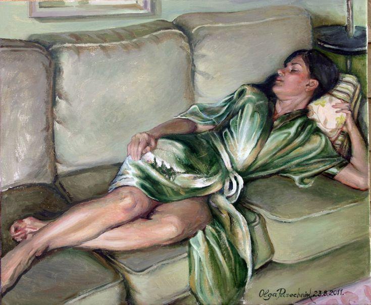 Olga Pasechnikova Morning Snooze