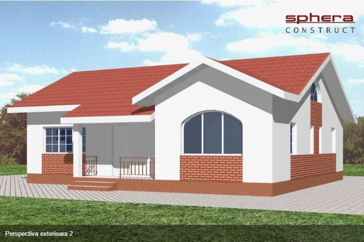 case cu doua dormitoare Two bedroom single story house plans 9