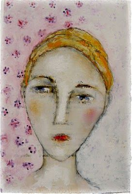 paint faces using oil pastels, watercolors, and white gouache  absolute fabulous tutorial