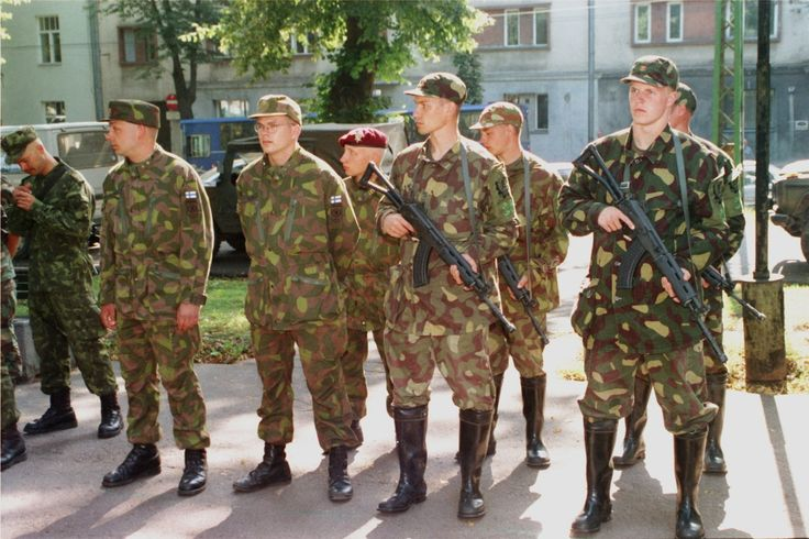 Finnish soldiers proud to wear their uniform, which ...
