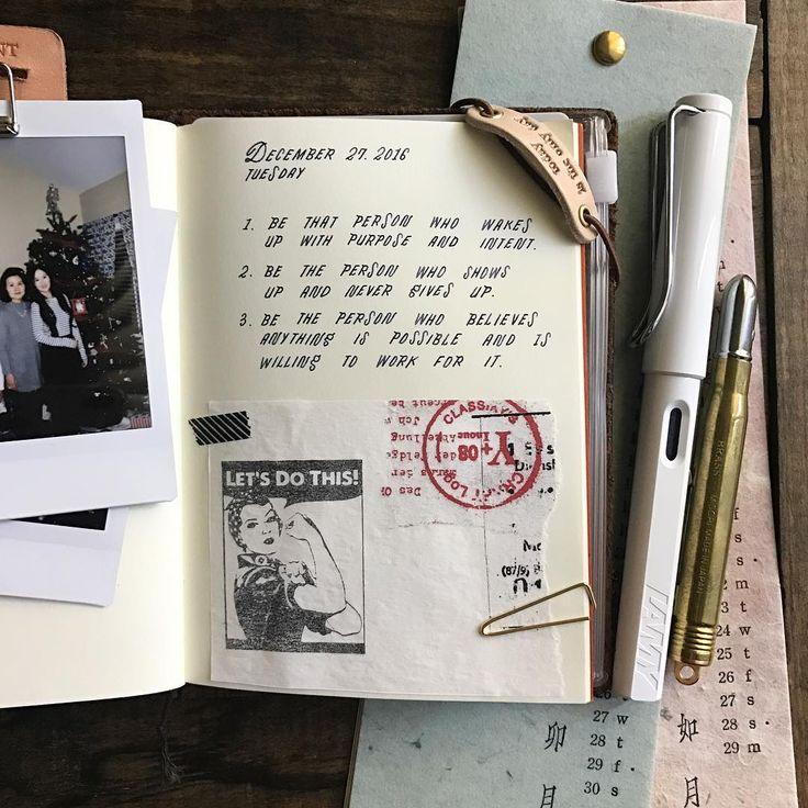 2016 will be history in a few more days ... Despite of how it may have started and what the journey may have been, let's make the best ending! Writing some positive notes to self in my passport TN ! Let's do this!  Quote by: Holly Wagner   Penned by: The Daily Roe, Eunice Roe