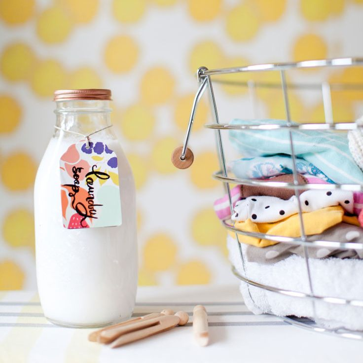 Homemade Laundry Detergent | west elm