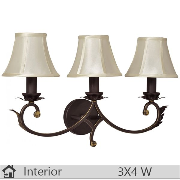 Aplica iluminat decorativ interior Klausen, gama Monarch, model AP3 http://www.etbm.ro/aplica-iluminat-decorativ-interior-klausen-gama-monarch-model-ap3