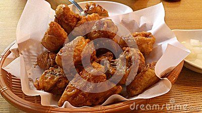 Fried Chicken with honey