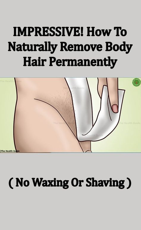 HOW TO NATURALLY REMOVE BODY HAIR PERMANENTLY. ( NO WAXING OR SHAVING )