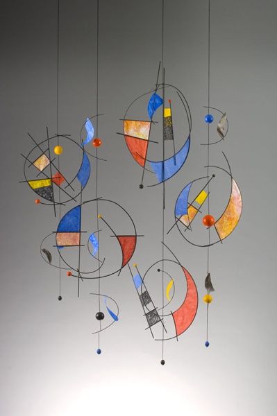 Very Miro - Kandinsky - Calder-ish... Interesting....