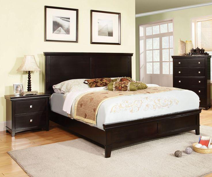Furniture Of America Modena Transitional Platform Bed