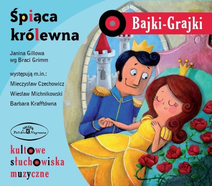 "Bajki-Grajki nr 7 ""Śpiąca królewna""    Ilustracja: Monika Suska  www.bajki-grajki.pl"