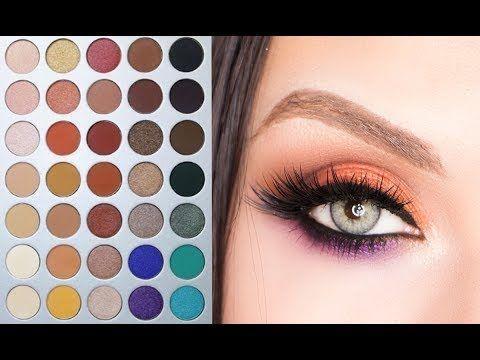 Gold eye makeup tutorial youtube using morphe brushes coupon