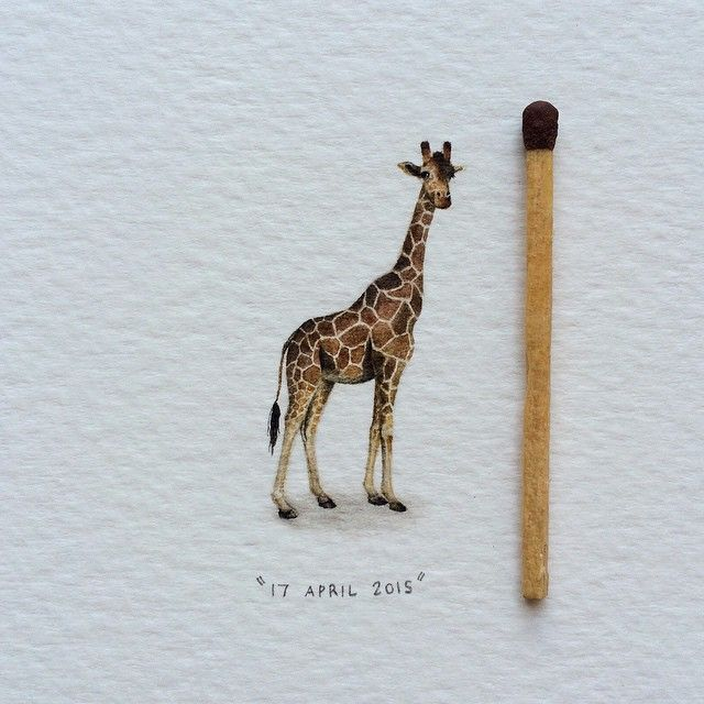 The Daily Muse: Lorraine Loots, Miniaturist Painter - Postcards for Ants Curated by Elusive Muse http://elusivemu.se/lorraine-loots/ ©2015, All Rights Reserved, Lorraine Loots