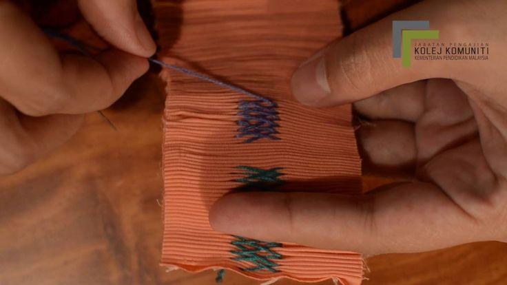 video 5 : Sulaman Tangan (Smocking 2)