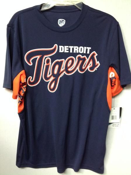 MLB Detroit Tigers Men's Grand Slam Hands High T-Shirt