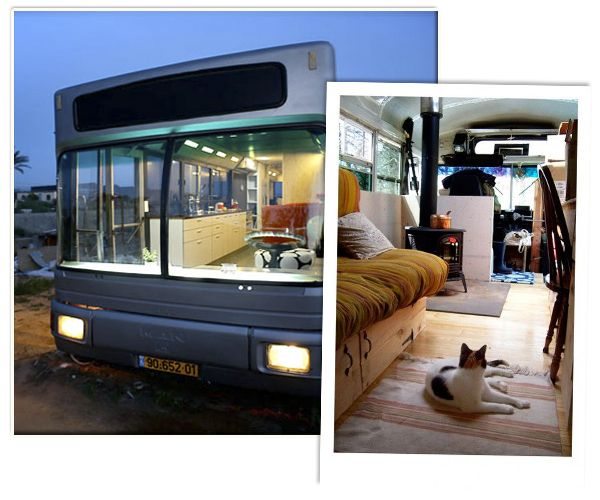 Ik ga op reis en ik neem mee; mijn huis! Nog geen zin om je vast te pinnen op één plek? Deze afgedankte schoolbussen kregen een nieuw leven. Zie hier de caravan 2.0.