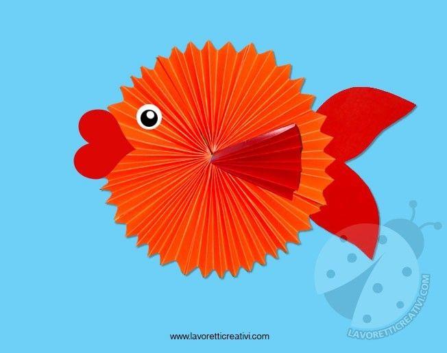 Pi di 25 fantastiche idee su pesci di carta su pinterest for Materiali da costruzione che iniziano con i