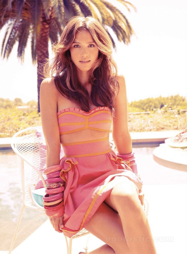 Jessica Alba for Elle Magazine