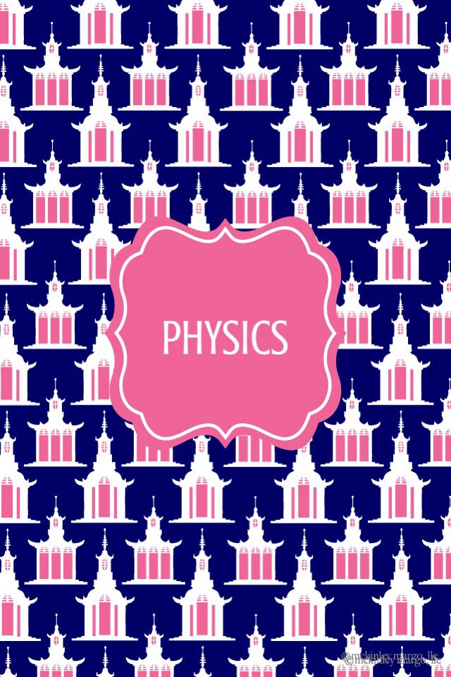physics binder cover