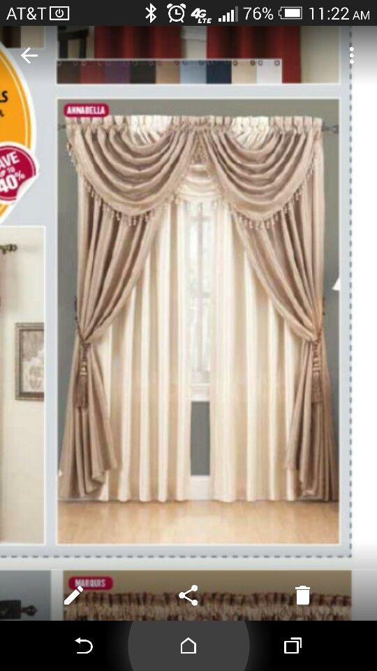 New Curtains (anna Linens)