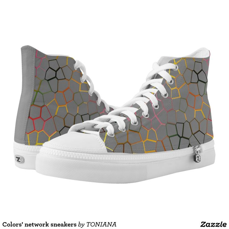 Colors' network sneakers