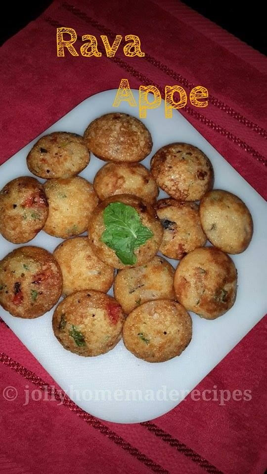 Homemade Recipes: Rava Appe Recipe, How to make Instant Semolina Appe Recipe | Pan Fried Rava Hoppers