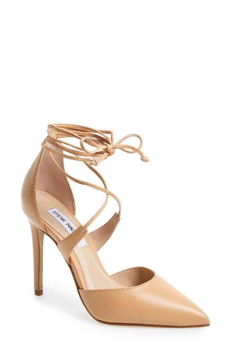 Pumps & High Heels for Women On Sale, Taupe, Glittered Leather, 2017, 6 Strategia