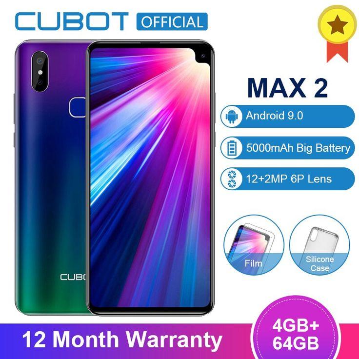Cubot Max 2 Android 9.0 19:9 4GB 64GB MT6762 Octa Core ...