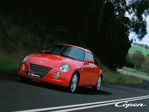 Отзывы о Daihatsu Copen (Дайхатсу Копен)