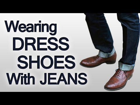 3 Rules On Wearing Dress Shoes With Jeans | Pairing Different Pieces of Your Wardrobe Seamlessly (via @antoniocenteno)