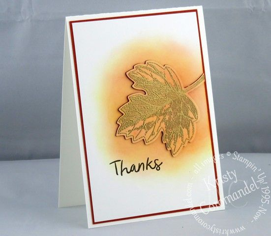 Create a Masculine Card featuring the Die Cut Inlay Technique