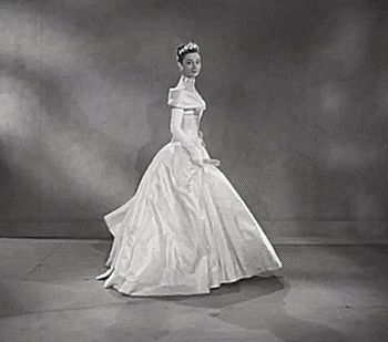 Audrey Hepburn's Screen Test for Roman Holiday, 1953 -- beautiful enough to be a princess!