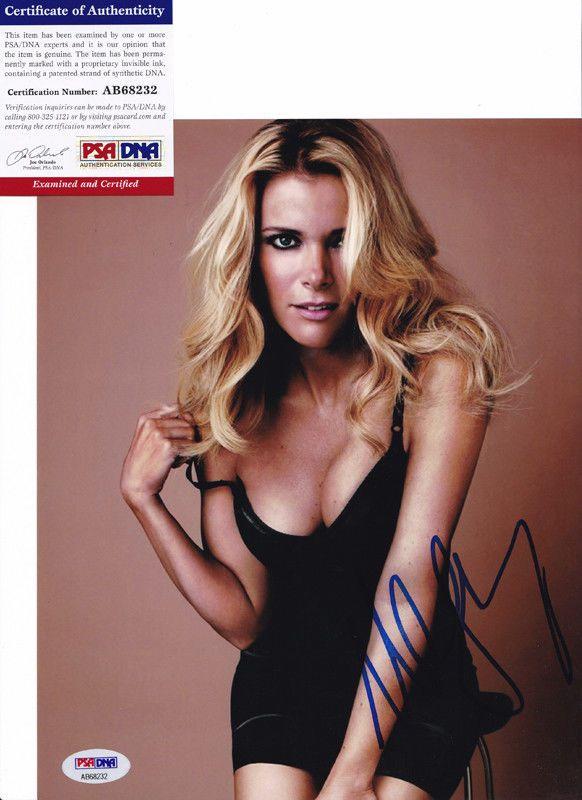 Megyn Kelly NBC TV Host Sexy Signed Autograph 8x10 Photo PSA/DNA COA #2