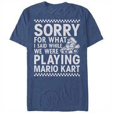Nintendo Mario Kart Sorry T-Shirt
