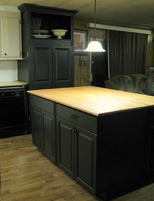 15 Must See Mobile Home Kitchens Pins Decorating Mobile Homes Mobile Home Remodeling And