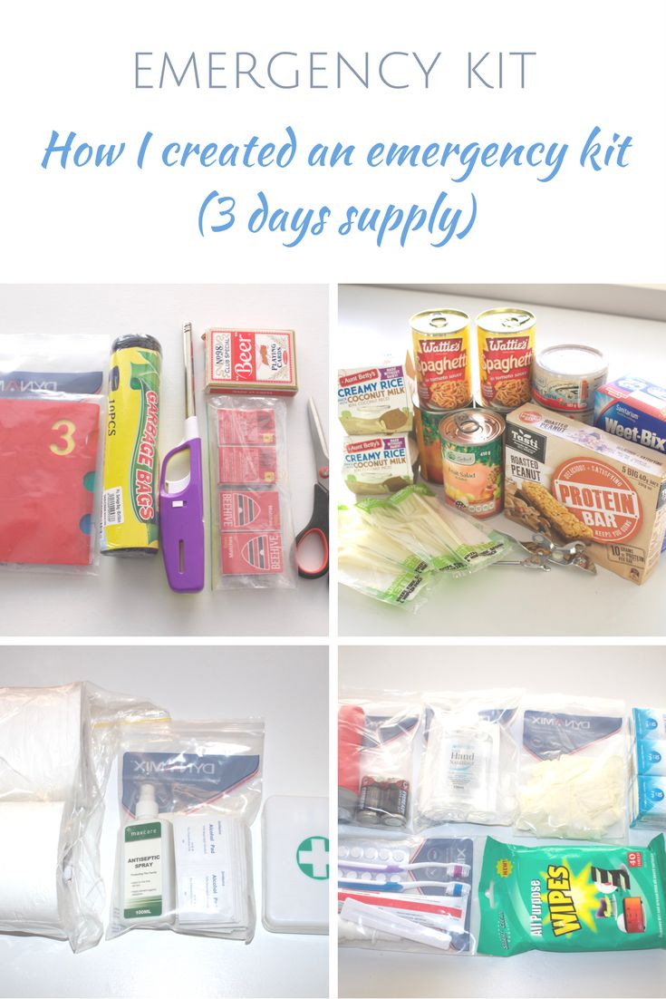 A quick, simple and cost effective emergency kit that I created for our household