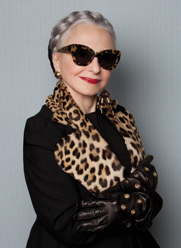 18 Fabulous Style Tips From Senior Citizens - I think it helps to be beautiful.