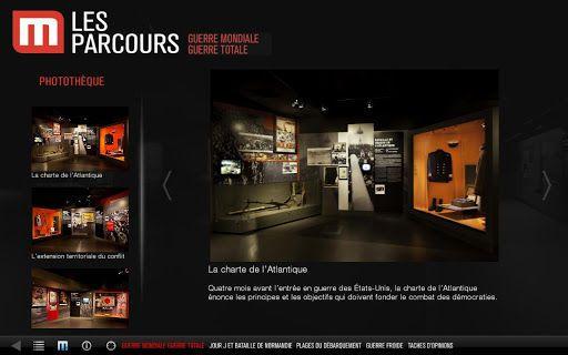 L'application HD gratuite pour Tablettes Android du Mémorial de Caen, Cité de l'Histoire pour la Paix. <p>L'application officielle « Mémorial de Caen » est un guide gratuit pour préparer sa visite. <br>Découvrez tous les parcours du musée sur votre IPad grâce aux vidéos, photos et 3 extraits de la visite virtuelle. <br>Vous découvrirez comment Le Mémorial de Caen guide depuis plus de 20 ans le public à travers les différentes étapes du musée et le plonge au cœur de l'Histoire du XXe siècle…