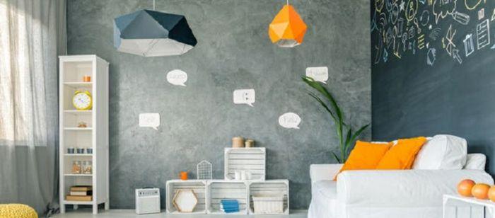ideas de muebles DIY hechos de caja de madera, interior moderno en - muebles diy