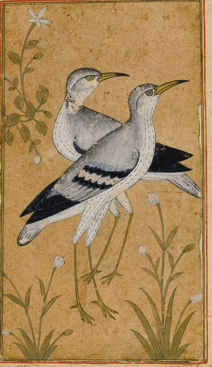 A Rare Concertina-form Album of Miniatures and Calligraphy (Muraqqa'), Persia, 16th-19th century